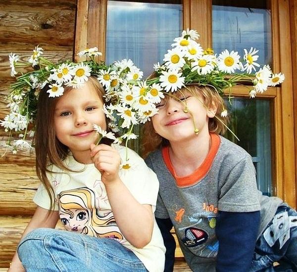 Фитотерапия, маленькие дети