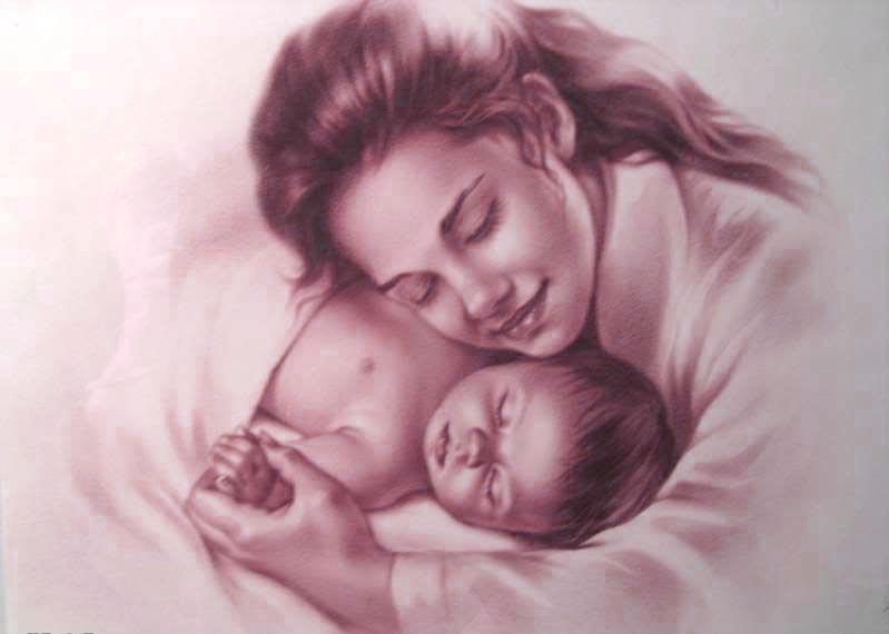 карапузики, мама и малыш, фото маленьких детей, стихи про детей