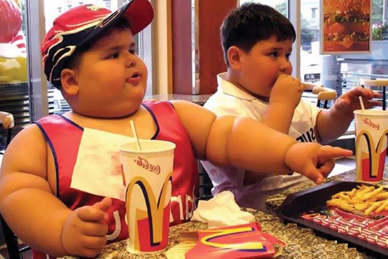 неправильное питание, степени ожирения