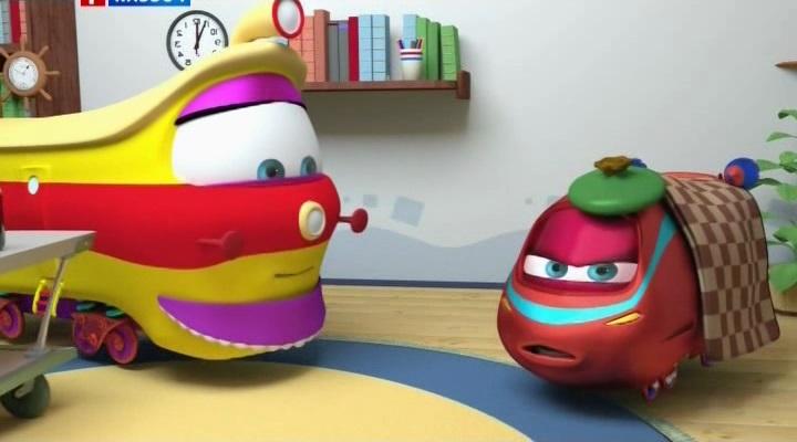 детские развивающие мультики, паровозик Тишка, развивающие мультфильмы для детей