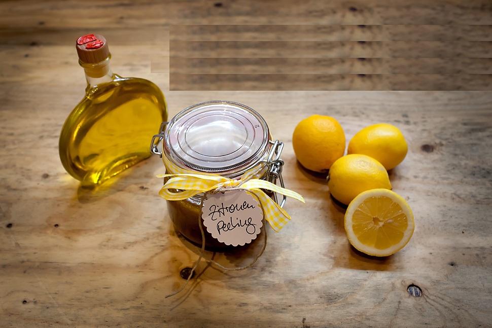 Ольга Сеймур, рецепты красоты, скраб для тела, лимонный