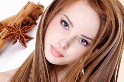 Ольга Сеймур, рецепты красоты, маска для волос, осветление волос, маска из корицы, маска с корицей, корица