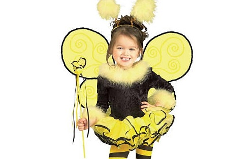 своими руками, новогодние костюмы своими руками, костюм Пчелка, мёд, Пчелочка, билайн