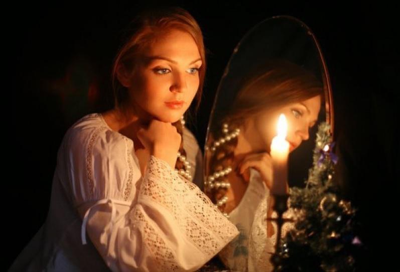 Новый год своими руками, святочные гадания, Новый год, зеркало