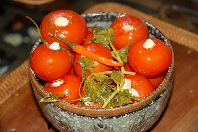 вкусные рецепты, малосольные помидоры, ингредиенты, приготовление, сегодня