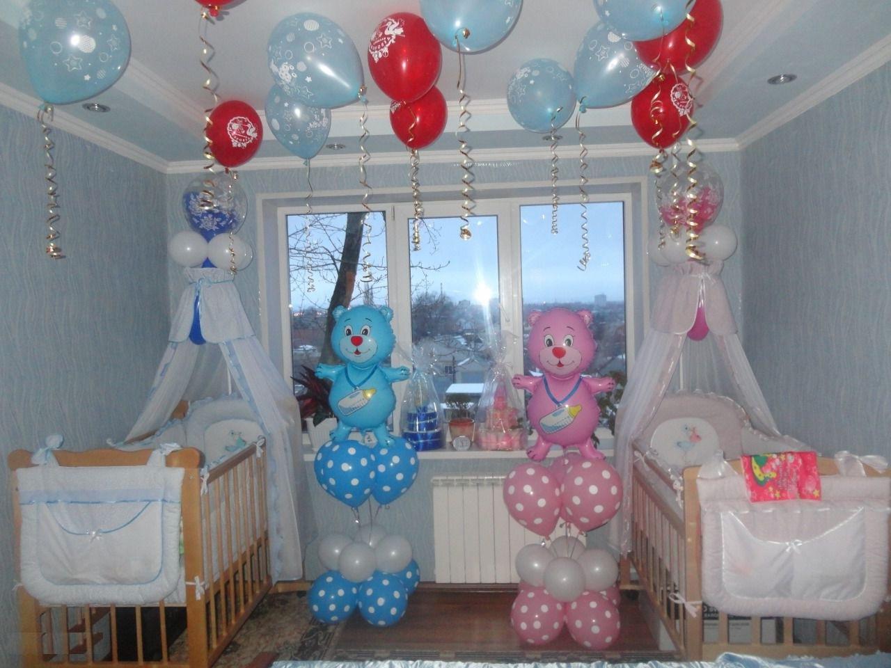 Оформление комнаты на рождение ребенка своими руками